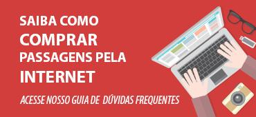 Saiba como comprar passagens pela Internet:  acesse nosso guia de dúvidas frequentes.